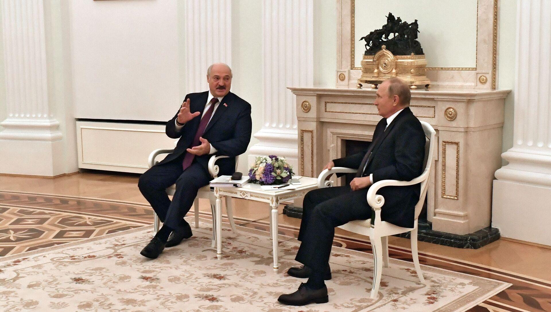 Переговоры президента РФ В. Путина с президентом Белоруссии А. Лукашенко - Sputnik Абхазия, 1920, 12.09.2021