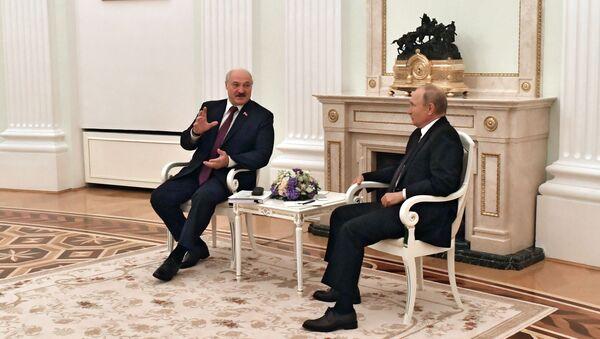 Переговоры президента РФ В. Путина с президентом Белоруссии А. Лукашенко - Sputnik Абхазия