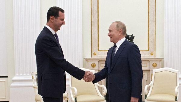 Встреча президента РФ В. Путина с президентом Сирии Б. Асадом - Sputnik Аҧсны