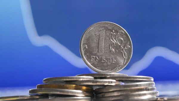 Монеты номиналом один рубль. - Sputnik Аҧсны