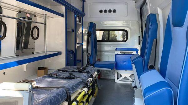 Минздрав передал в пользование районным больница Очамчыры и Нового Афона две машины Скорой помощи - Sputnik Аҧсны