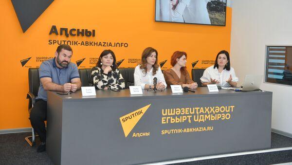 Пресс-конференция посвященная созданию фильма Она - Sputnik Аҧсны