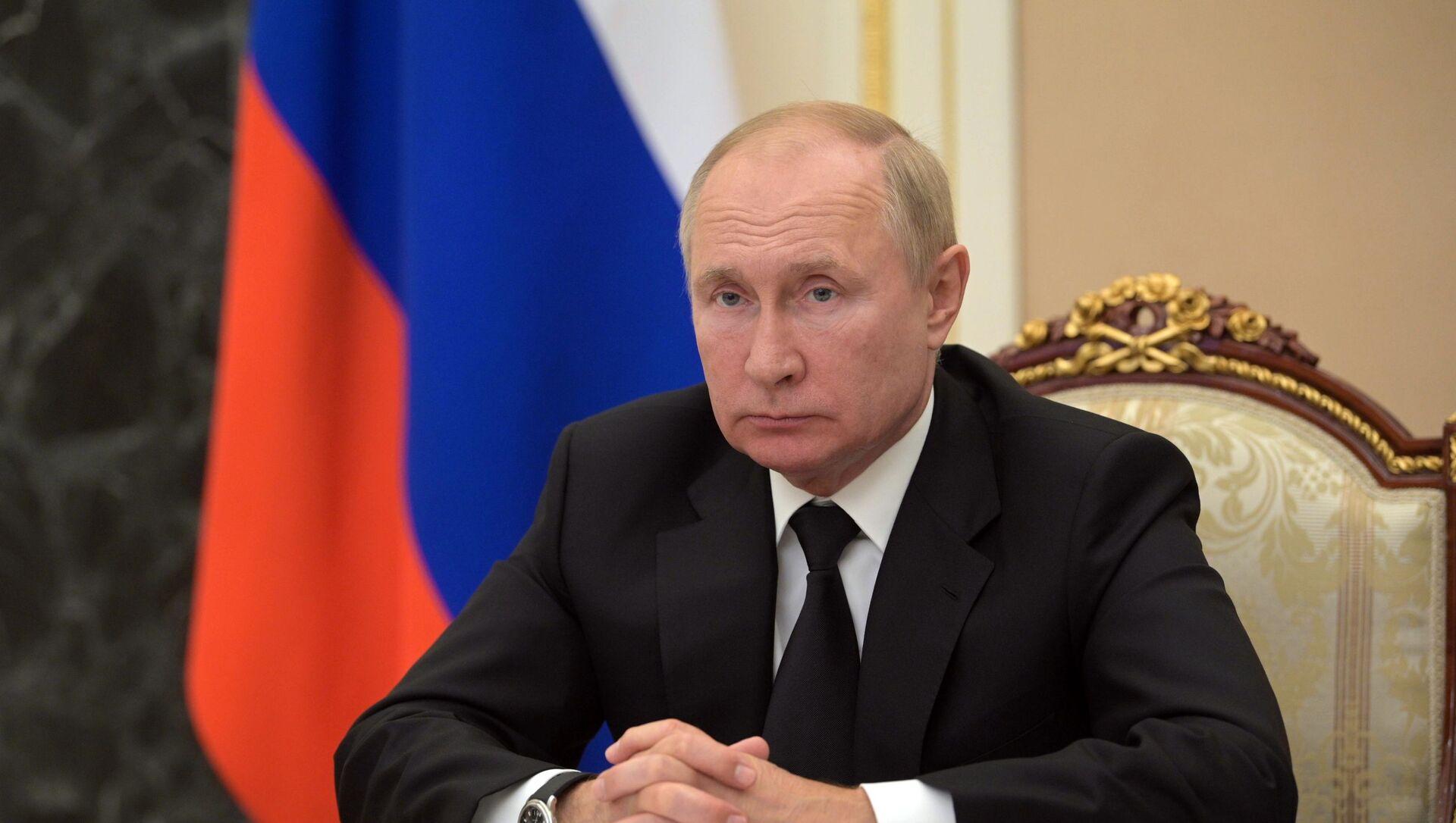 Президент РФ В. Путин провел заседание Совета по развитию физической культуры и спорта - Sputnik Абхазия, 1920, 20.09.2021