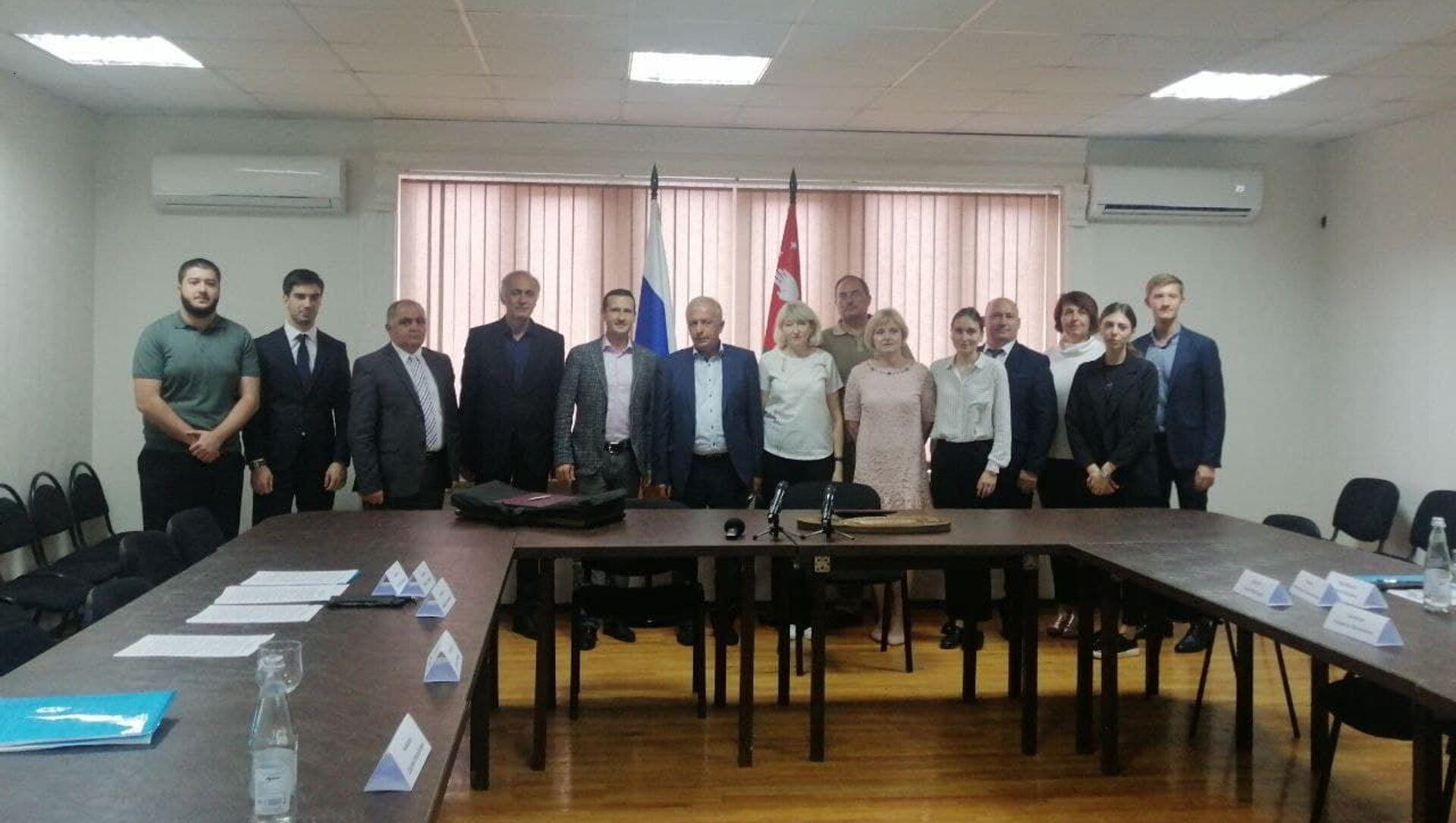 Седьмая сессия Абхазо-Российской комиссии по рыбному хозяйству. - Sputnik Абхазия, 1920, 17.09.2021