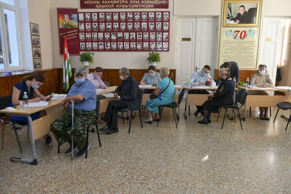 Эпидемиологические нормы были соблюдены на всех участках. - Sputnik Абхазия