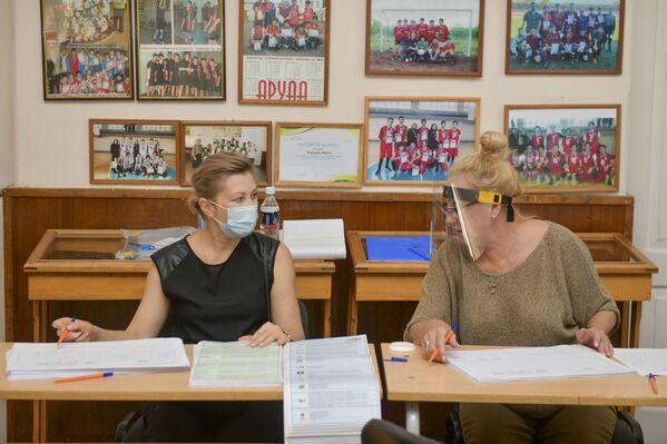 Всего на территории республики было открыто девять избирательных участков. - Sputnik Абхазия