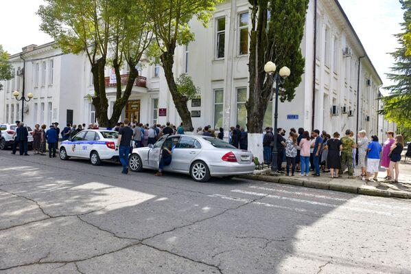 В Ахазии состоялось голосование по выборам в Государственную Думу России. - Sputnik Абхазия
