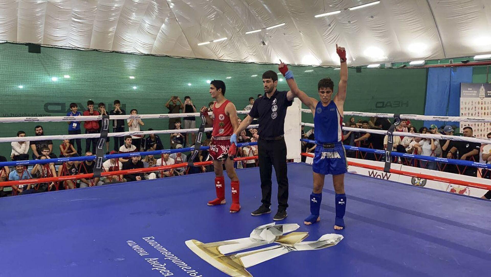 Сборная Абхазии по тайскому боксу заняла третье место на «Кубке Краснодарского края» - Sputnik Аҧсны, 1920, 20.09.2021