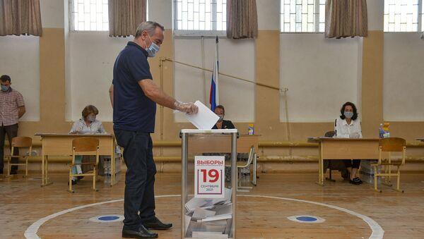 Выбор сделан: как проходило голосование в Госдуму в Абхазии  - Sputnik Абхазия