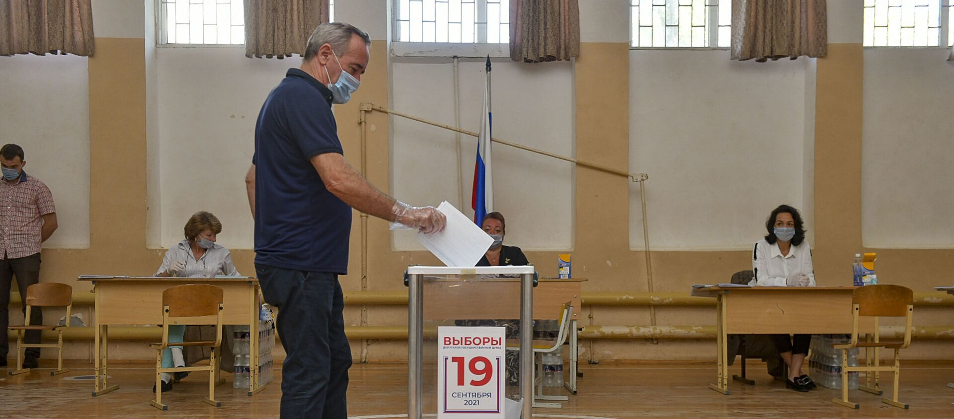 Выбор сделан: как проходило голосование в Госдуму в Абхазии  - Sputnik Абхазия, 1920, 19.09.2021