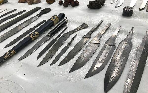 Фестиваль кузнецов-оружейников в селе Мгудзырхуа - Sputnik Абхазия