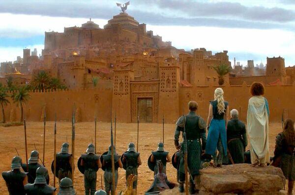 Кадр из фильма Игра престолов. Древняя крепость Касбу Айт-Бен-Хадду. Эта локация находится в Марокко. - Sputnik Абхазия