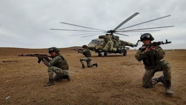 Совместные действия российских и монгольских подразделений на учении «Селенга-2021» - Sputnik Абхазия