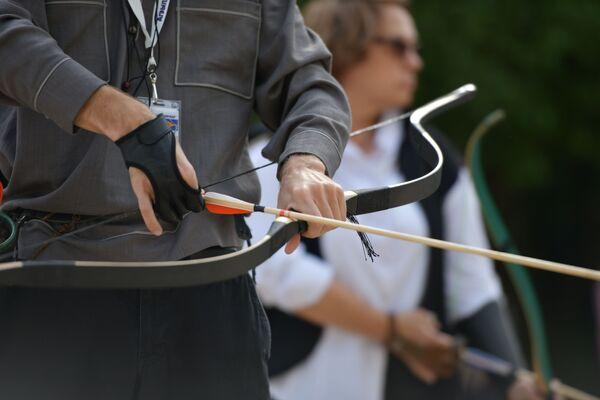 Турнир собрал более 20 профессиональных лучников и любителей. - Sputnik Абхазия