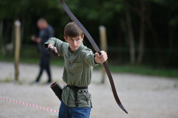Семнадцатилетний Данил Кушба из Пицунды стал третьим в общем зачете. - Sputnik Абхазия