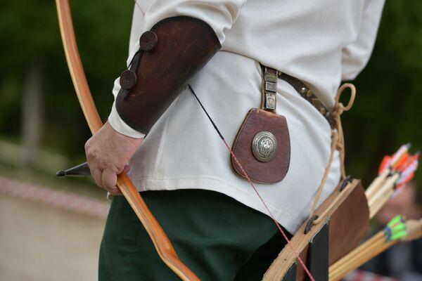 Большинство стрелков пользуются ассирийскими и венгерскими луками. - Sputnik Абхазия