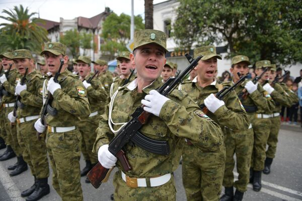 Во всех районах страны прошли памятные мероприятия. - Sputnik Абхазия