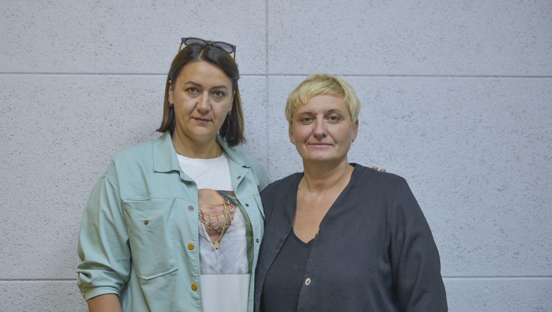 Инесса Ходова и Ольга Костюкович  - Sputnik Абхазия, 1920, 10.10.2021