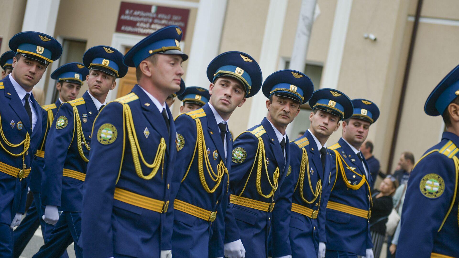 День Победы отметили в Абхазии - Sputnik Абхазия, 1920, 11.10.2021