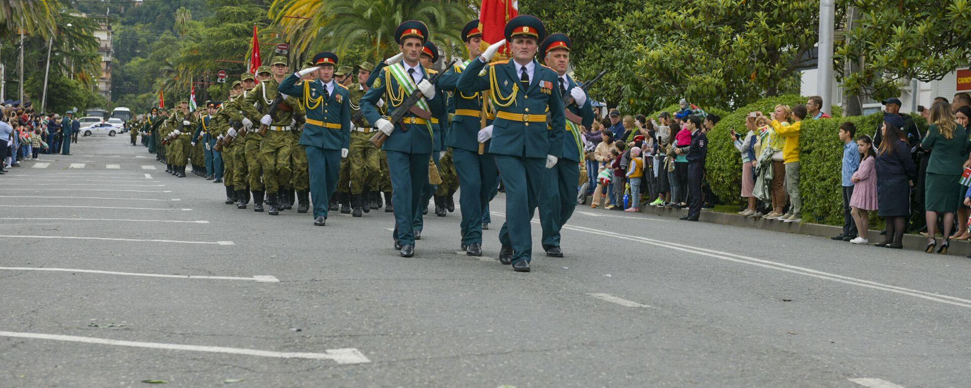 День Победы и Независимости: как Абхазия отметила национальный праздник - Sputnik Абхазия, 1920, 30.09.2021