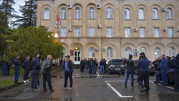 Здание парламента РА  - Sputnik Абхазия