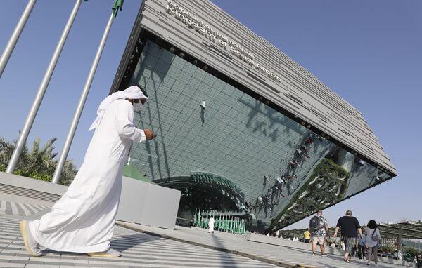 Павильон Саудовской Аравии на Всемирной выставке Expo-2020 в Дубае. - Sputnik Абхазия