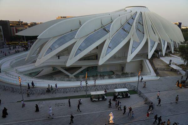 Павильон Объединенных Арабских Эмиратов на Всемирной выставке Expo-2020 в Дубае, ОАЭ. - Sputnik Абхазия