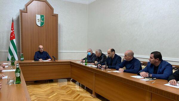 Заседание в администрации президнта  - Sputnik Аҧсны