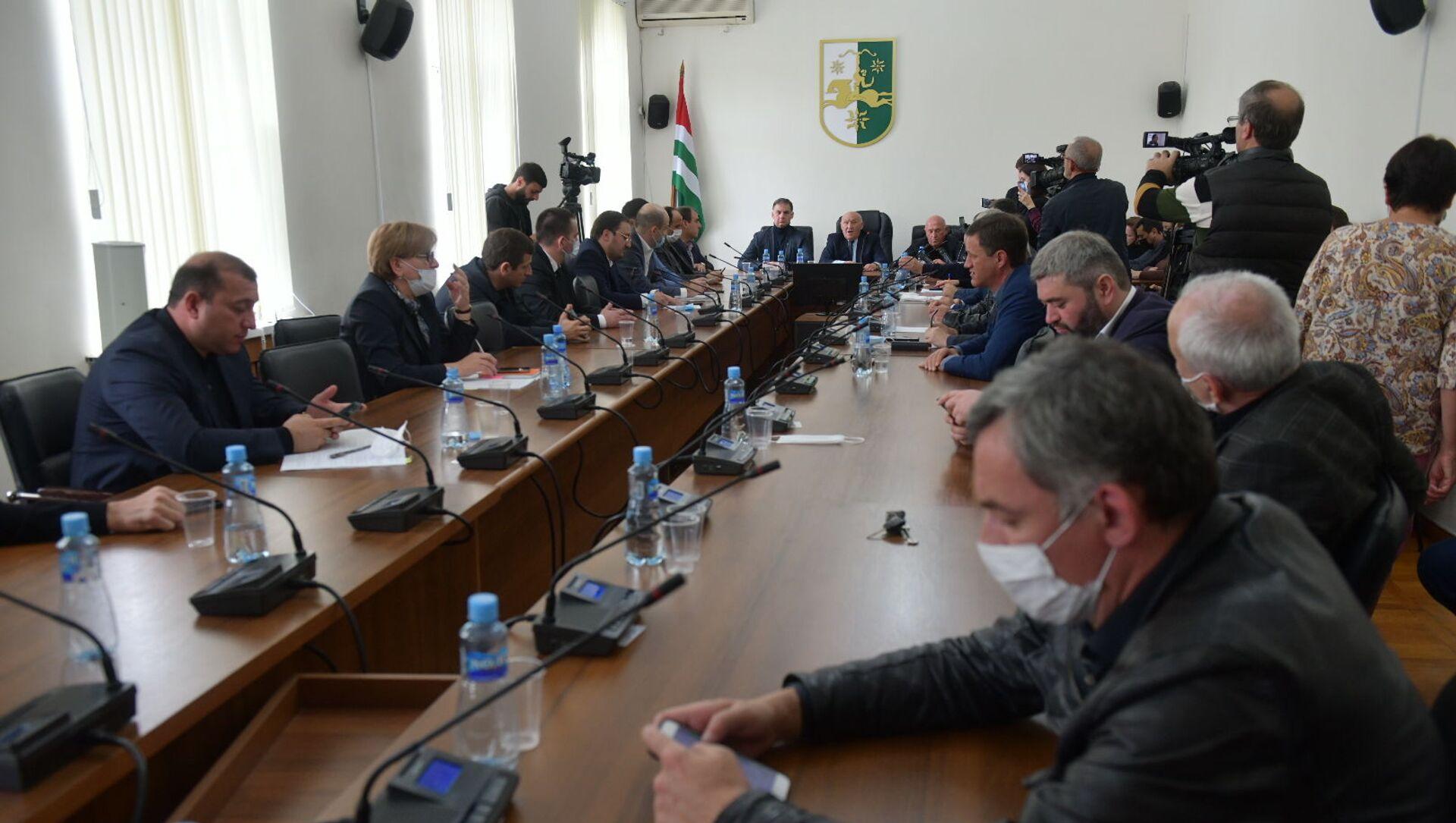 Заседание парламента  - Sputnik Абхазия, 1920, 04.10.2021