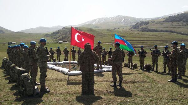 Совместные тактические учения Турции и Азербайджана - Sputnik Аҧсны