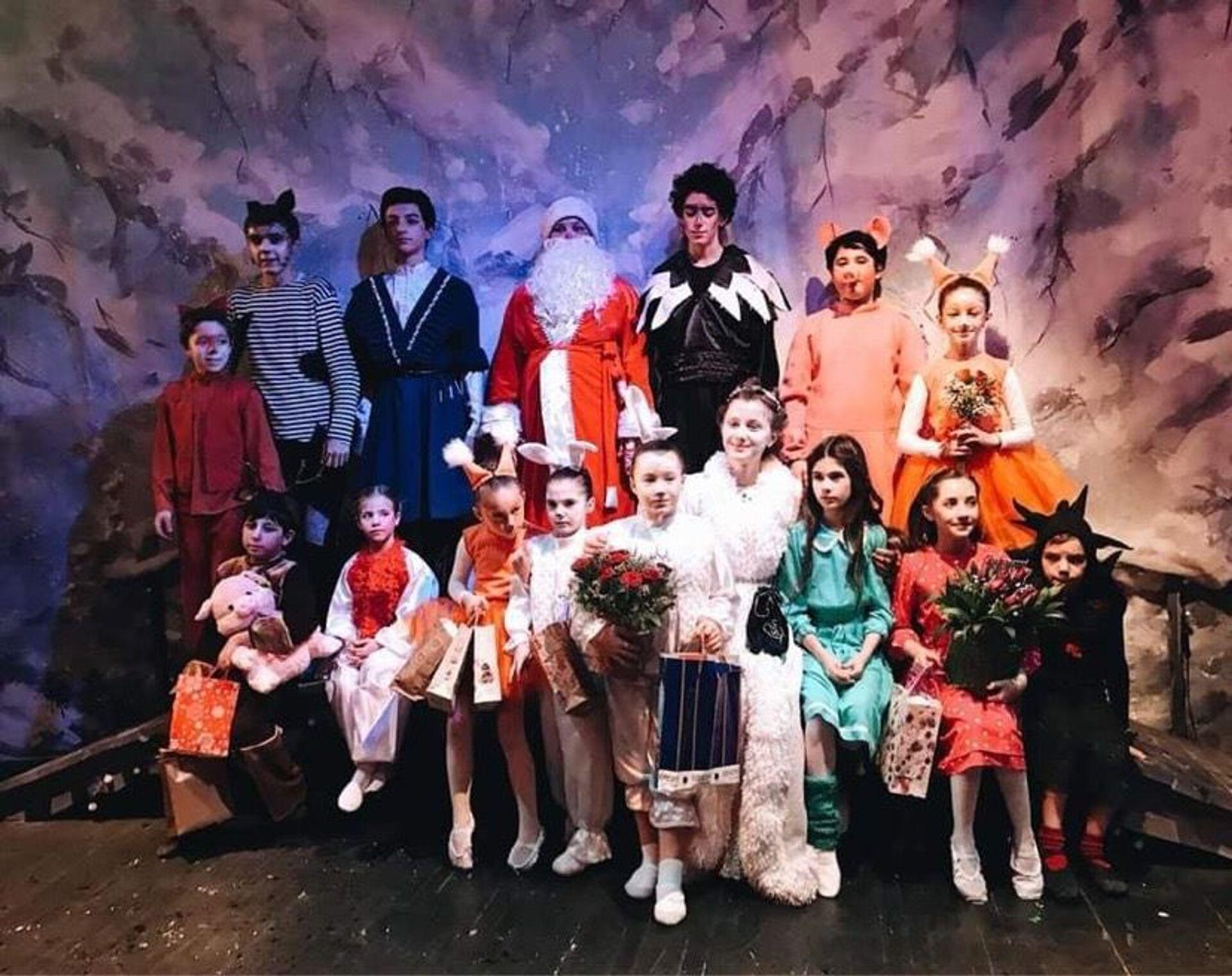 Детская театральная студия Нарт - Sputnik Абхазия, 1920, 12.10.2021