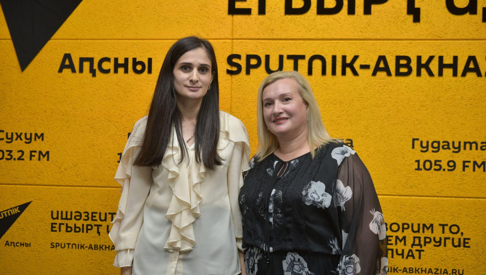 Мадина Кварчия и Хагба Линда - Sputnik Аҧсны, 1920, 05.10.2021
