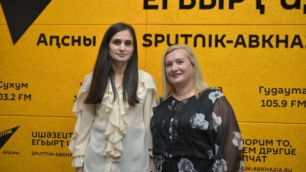Мадина Кварчия и Хагба Линда - Sputnik Аҧсны
