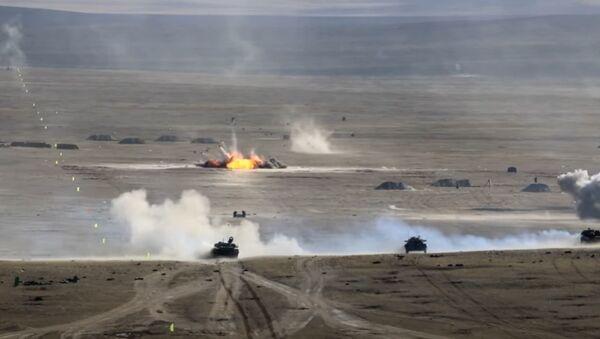 Активная фаза российско-монгольского учения «Селенга-2021» на полигоне Дойтын Ам - Sputnik Абхазия