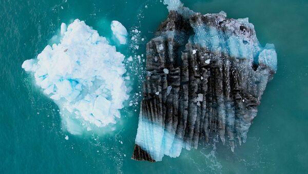 Лед перед ледником Экип Сермия в Гренландии - Sputnik Абхазия
