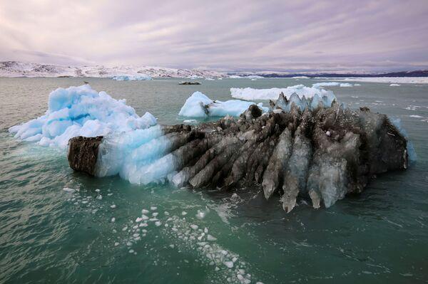 Ледник Экип Сермия в Гренландии - Sputnik Абхазия