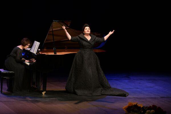 Концерт состоялся в рамках  XIX Международного фестиваля Хибла Герзмава приглашает.... - Sputnik Абхазия