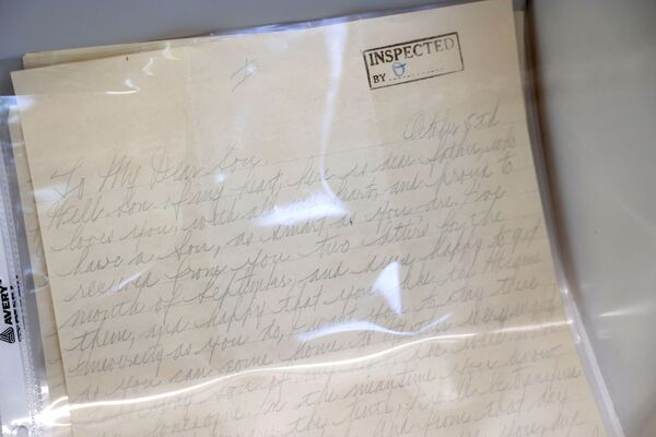 Личное письмо американского гангстера Аль Капоне его сыну Сонни. - Sputnik Абхазия