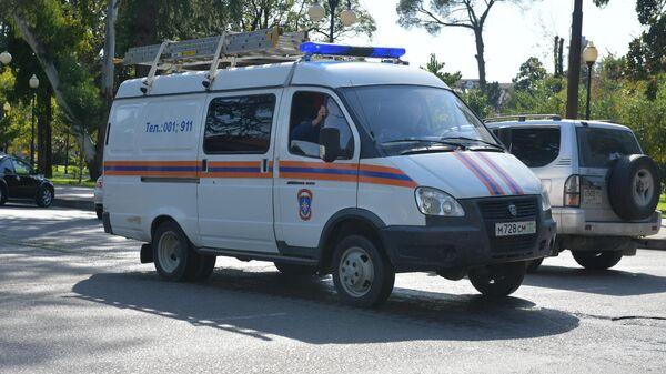 Машина МЧС Абхазии  - Sputnik Абхазия