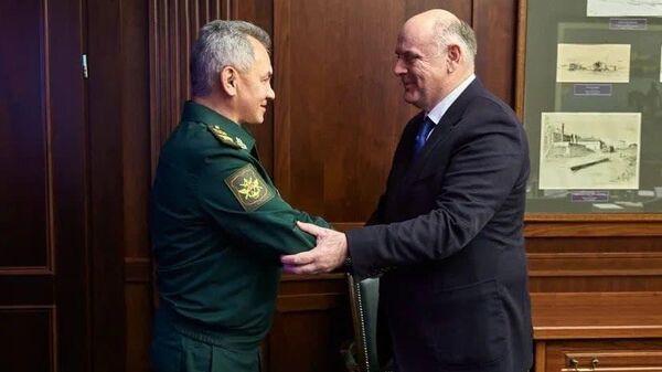 Аслан Бжания провел переговоры с министром обороны России Сергеем Шойгу - Sputnik Аҧсны