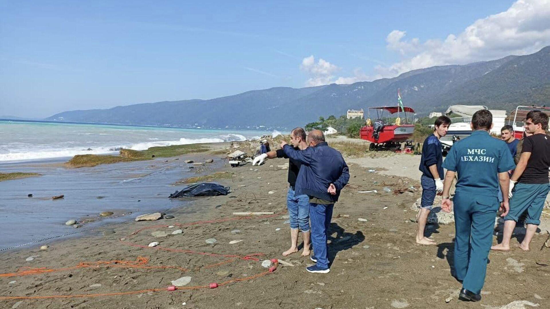 Два человека утонули сегодня утром в акватории Гагры - Sputnik Абхазия, 1920, 14.10.2021