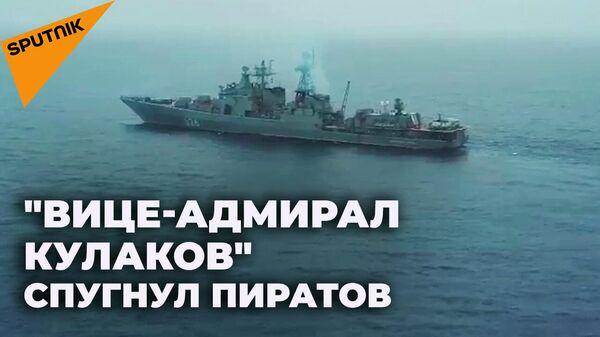 Как российские моряки спасли панамский контейнеровоз от пиратов  - Sputnik Абхазия