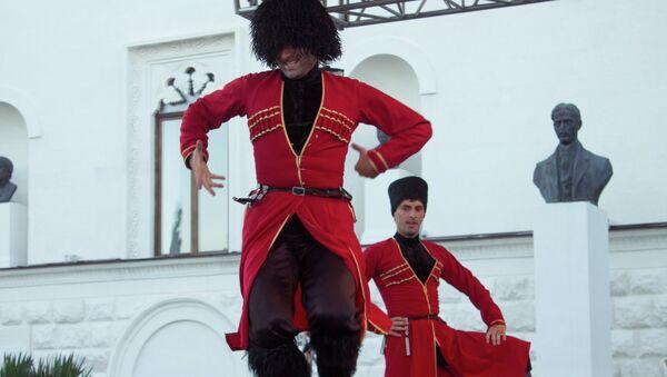 Танцоры ансамбля Шаратын - Sputnik Аҧсны