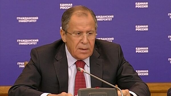 Лавров объяснил, к чему приводят заявления США о противостоянии НАТО и РФ - Sputnik Абхазия