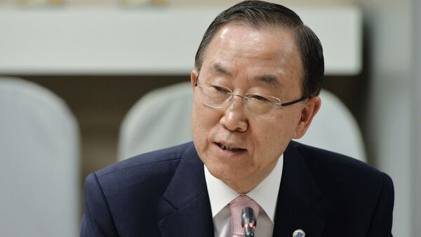 Генеральный секретарь ООН Пан Ги Мун посетил РИА Новости - Sputnik Абхазия
