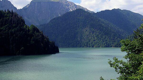 Рица - горное озеро - Sputnik Абхазия