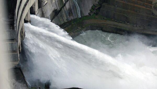 Ингурская ГЭС - крупнейшая на Кавказе.Архивное фото. - Sputnik Абхазия