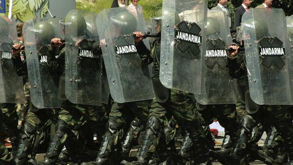 Военный парад в честь Дня независимости Грузии. Архивное фото. - Sputnik Абхазия