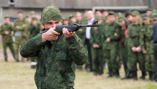 Х Республиканская военно-спортивная игра Аиааира. - Sputnik Абхазия