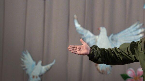 Визит А.Захарченко в Новоазовск. Архивное фото. - Sputnik Абхазия